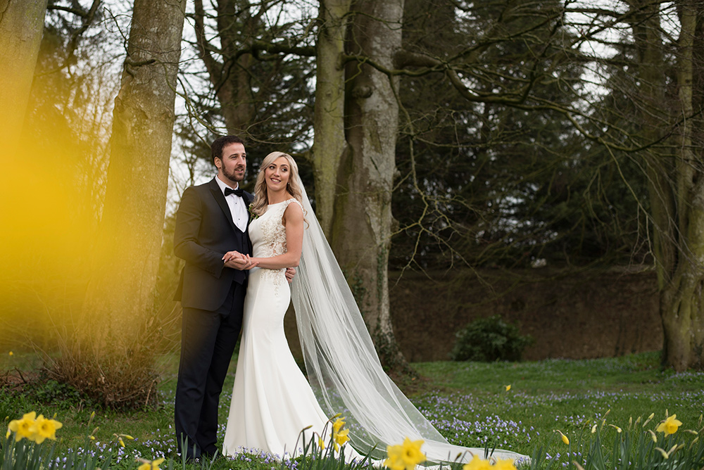 outdoor photos in garden at Rathsallagh House Hotel