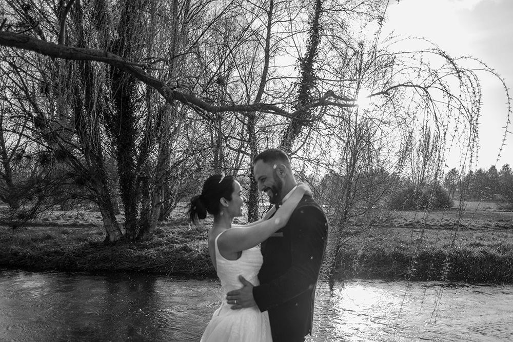 spring wedding at kilkea castle
