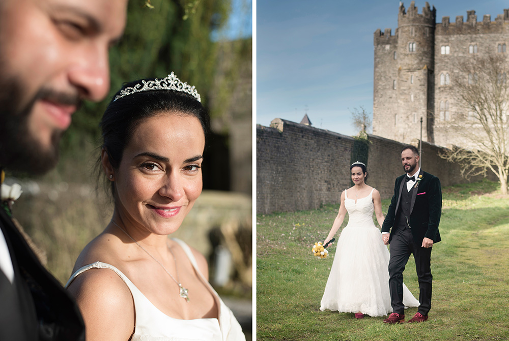 recommended wedding photographers for kilkea castle