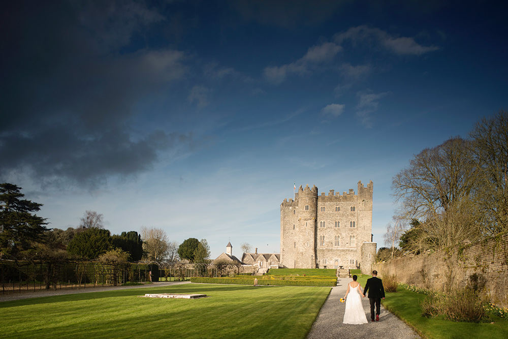 castle wedding venues in ireland