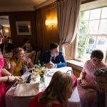 guests at rathsallagh wedding