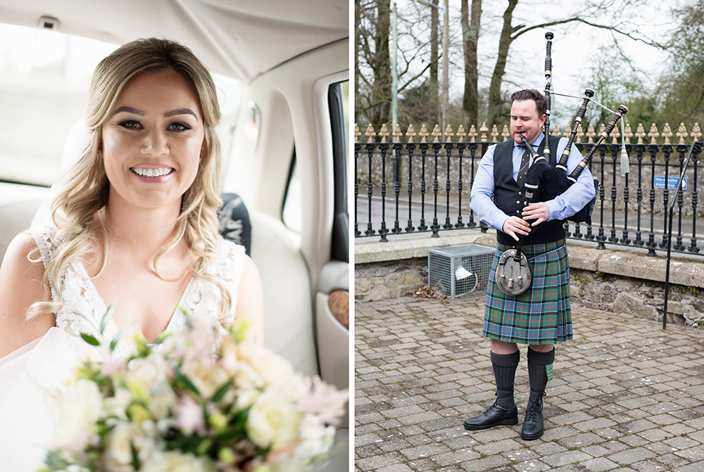 recommended wedding photographer rathsallagh house