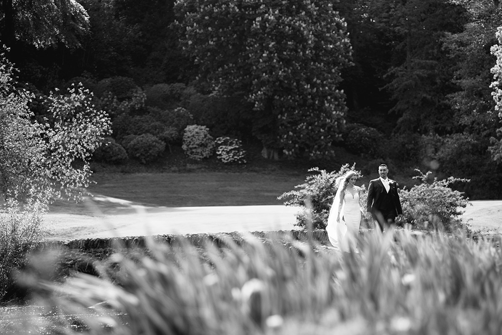 stunning wedding photos at druids glen