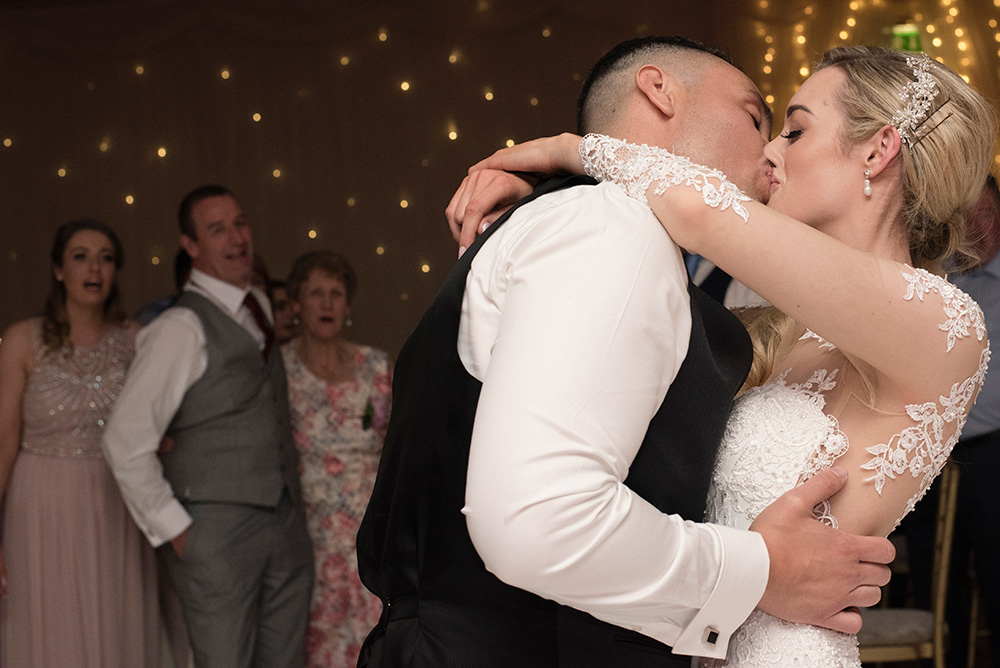 first dance wedding at druids glen