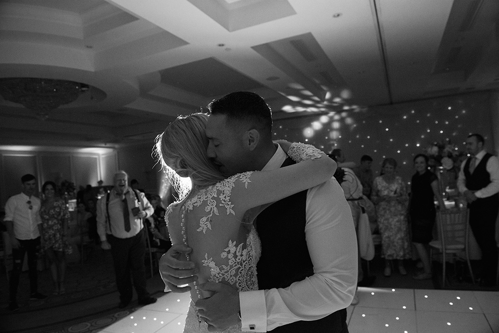 best first dance wedding photos at druids glen