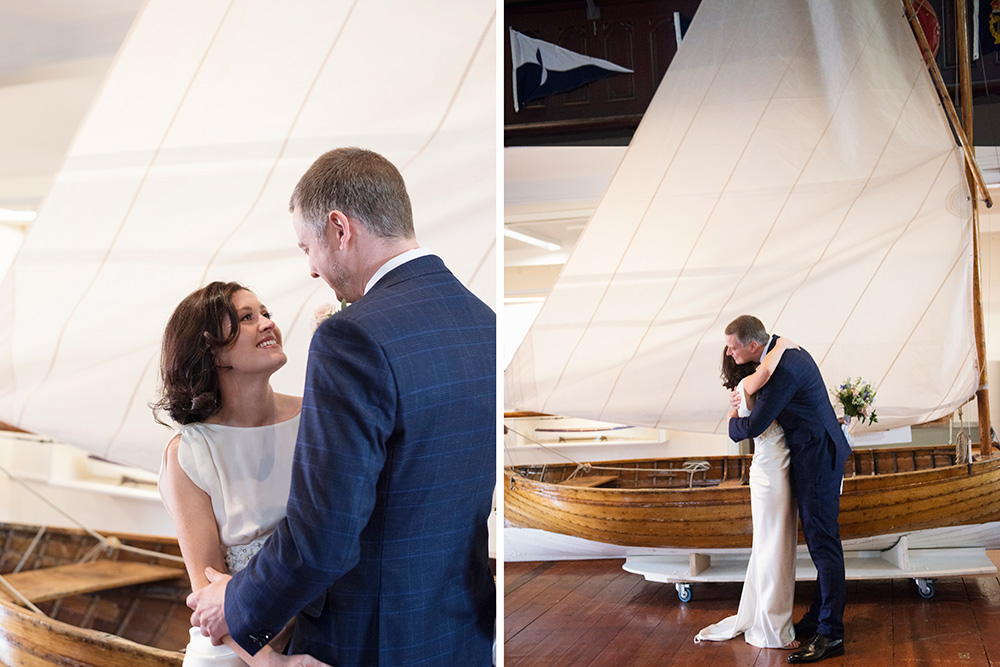 meeting your bride at maritime museum of ireland