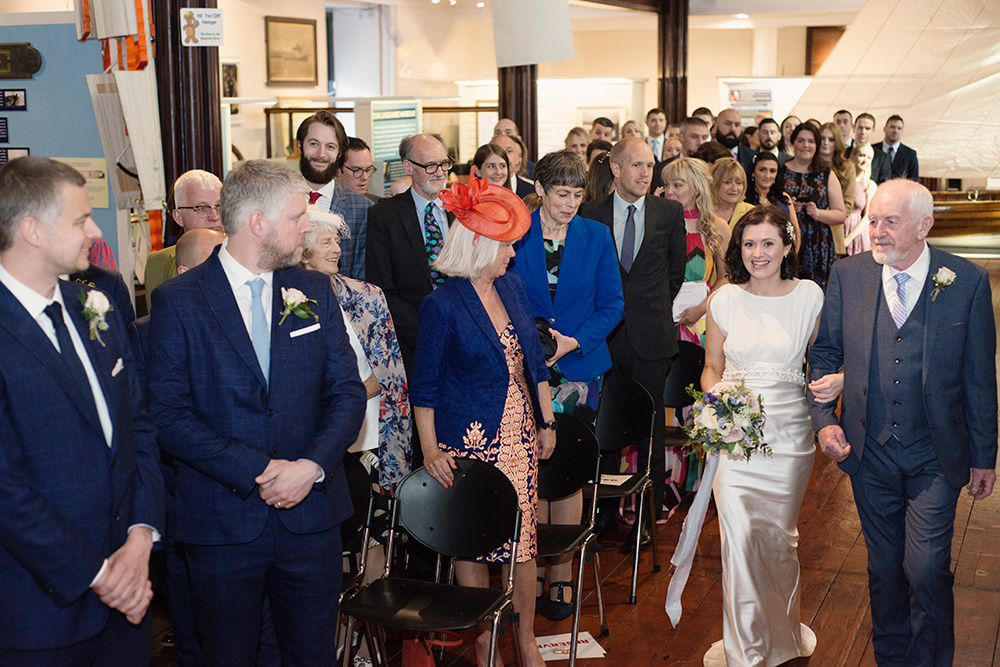 maritime museum of ireland wedding ceremony