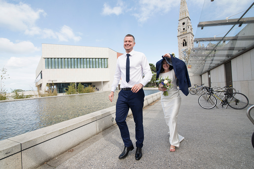 dlr lexicon wedding photos dun laoghaire