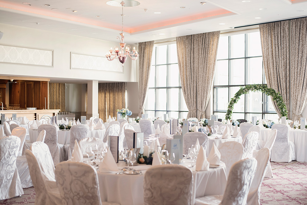 banqueting room dun laoghaire royal marine hotel