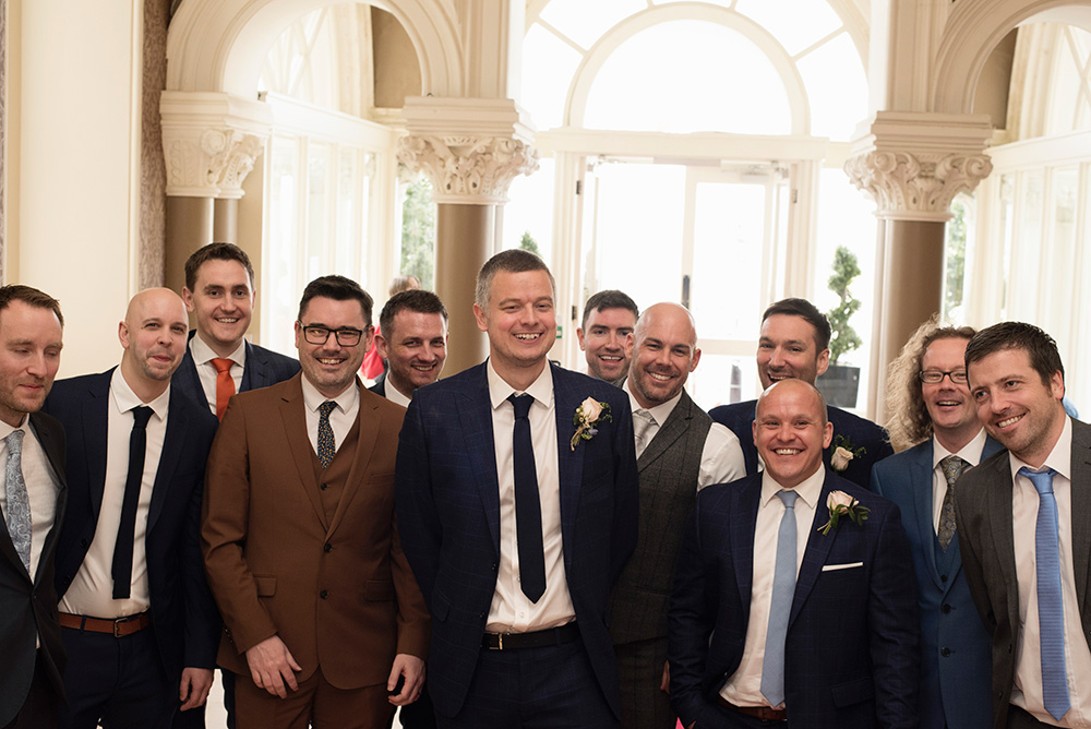 groom at royal marine hotel dun laoghaire