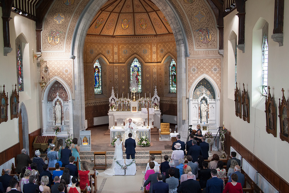 church of the most holy trinity allenwood kildare wedding