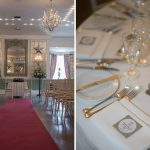 Castle Durrow wedding tables