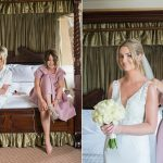 bride getting ready at clanard court hotel