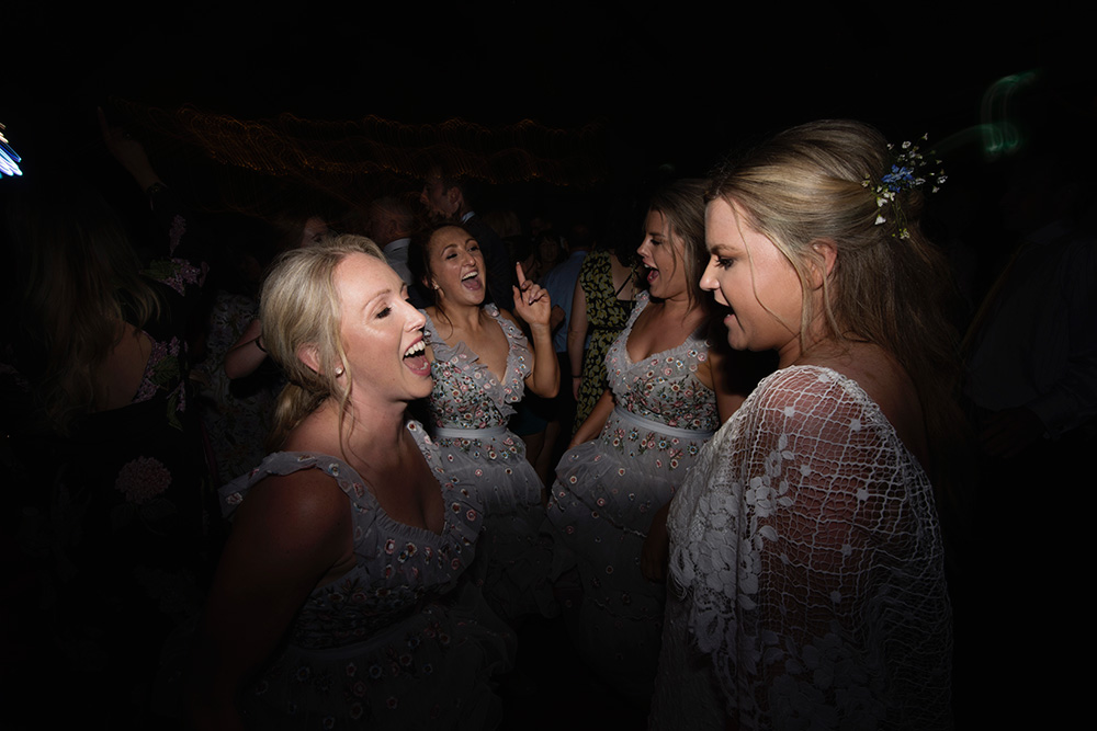 dancing and wedding afters brooklodge hotel