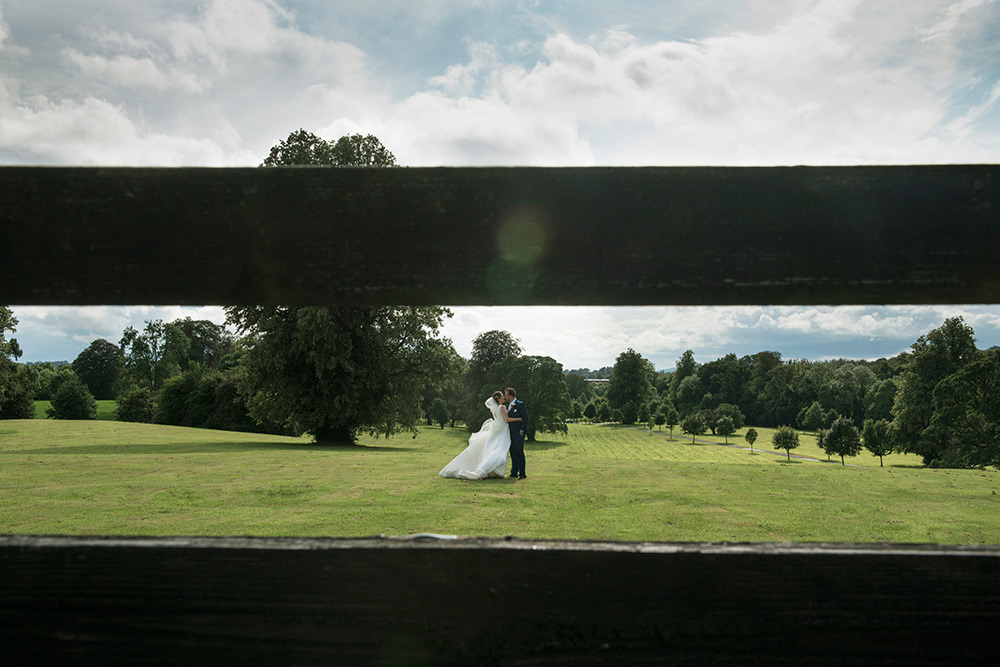 outside photos at wedding at lyrath estate hotel