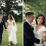 bride and groom with rathsallagh tree wedding