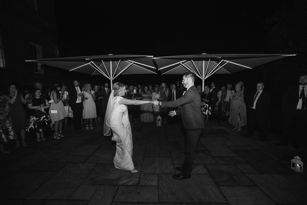 wedding couple first dance wedding at bellinter house