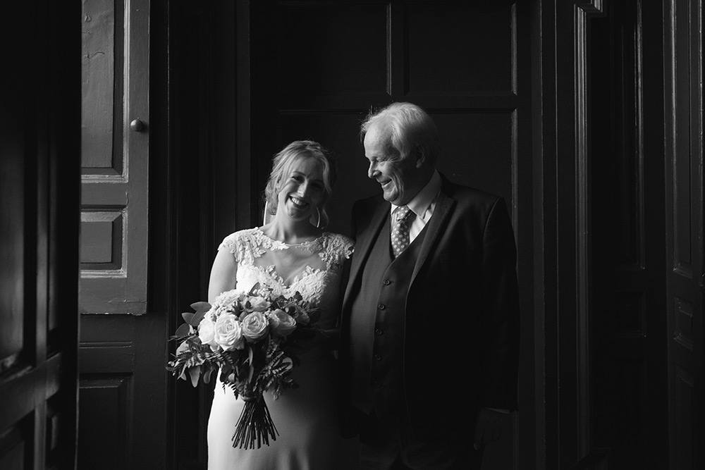 window light wedding bellinter house wedding