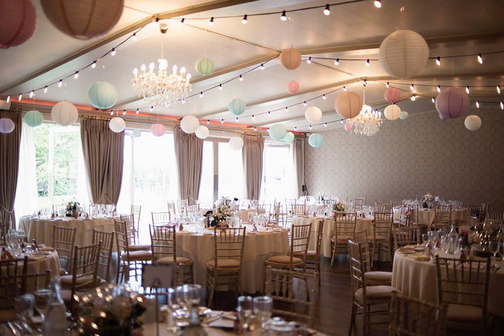 main room bellinter house wedding