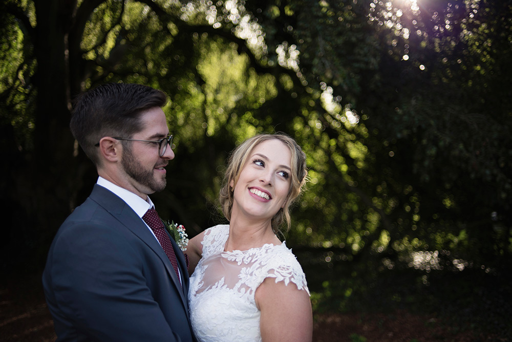 wedding couple at bellinter house wedding