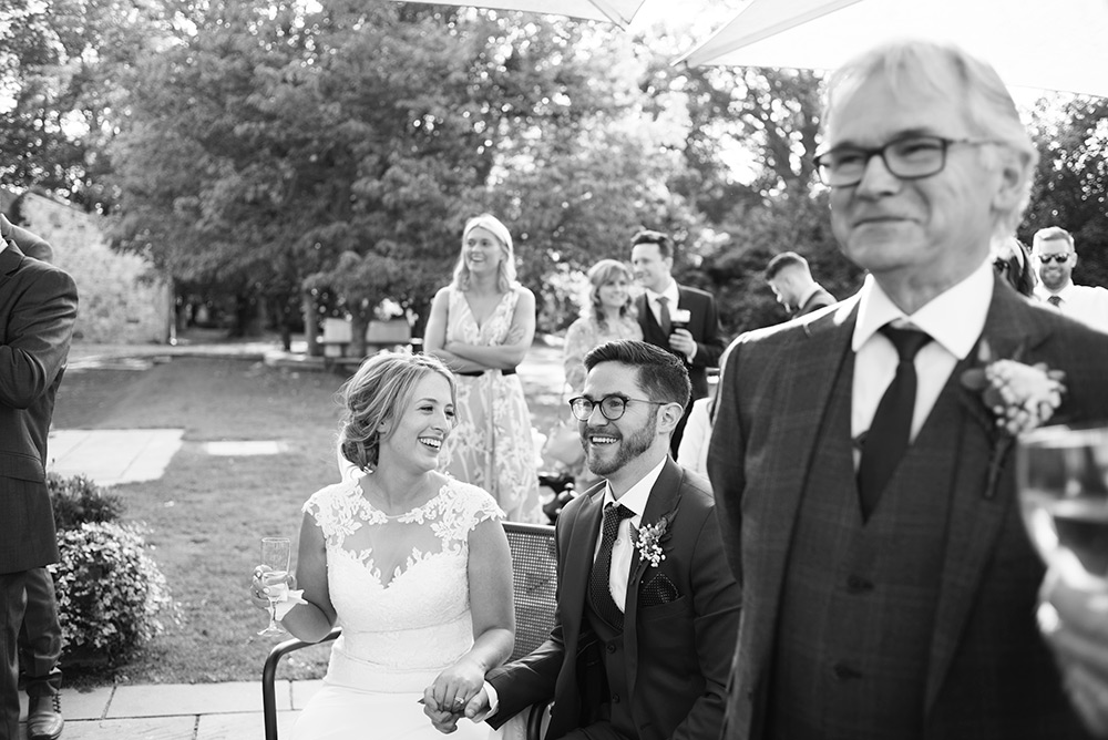 black and white documentary wedding photographer bellinter house