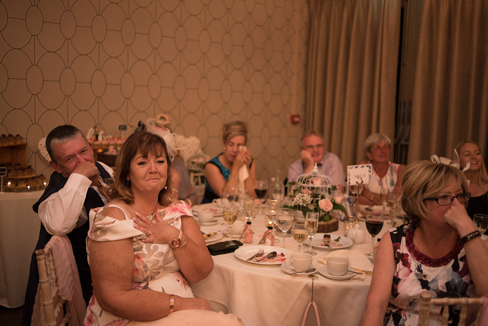 tables at bellinter house wedding