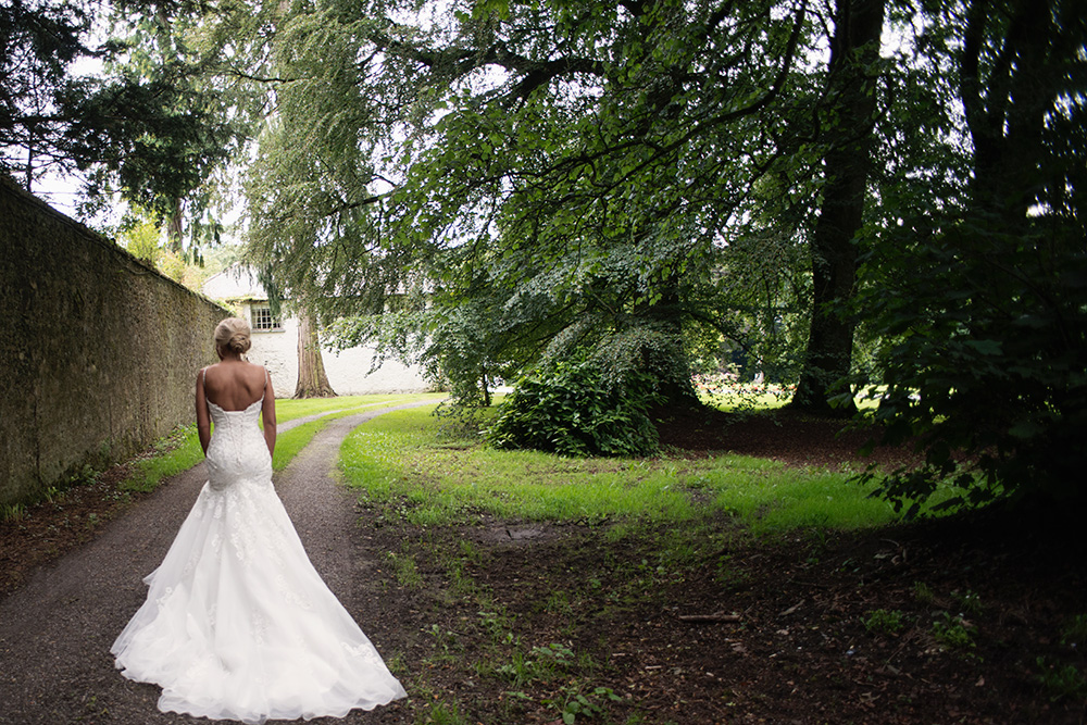 in the woods at rathsallagh house wedding