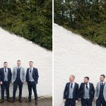 the groom and his groomsmen at rathsallagh house wedding
