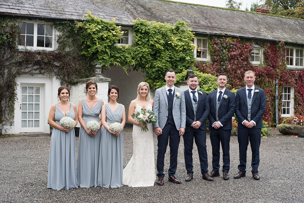 country style wedding in wicklow