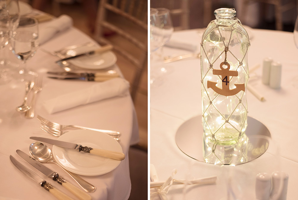 table decor wedding at rathsallagh hosue