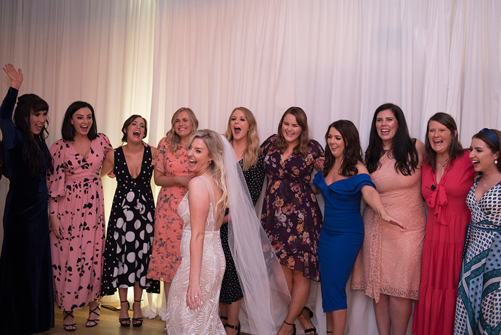 girls photo at rathsalagh hosue wedding