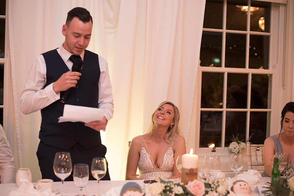 grooms speech rathsallagh house wedding