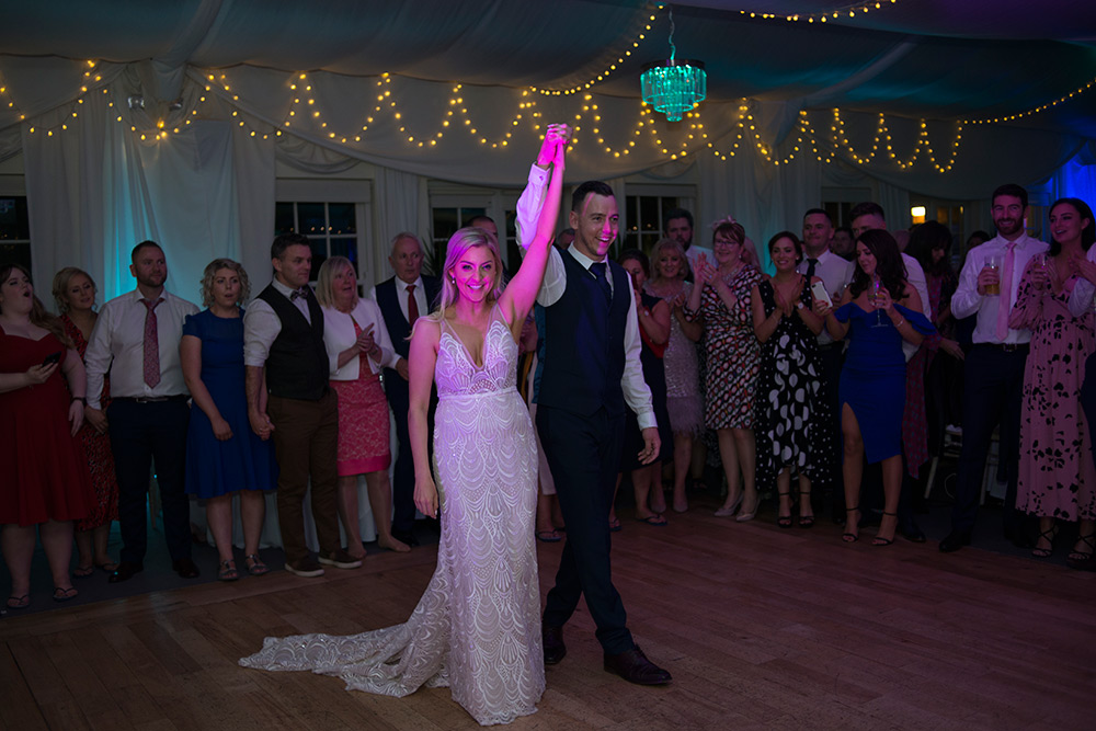 first dance wedding at rathsallagh house hotel
