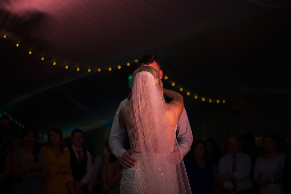 couple first dance rathsallagh house hotel
