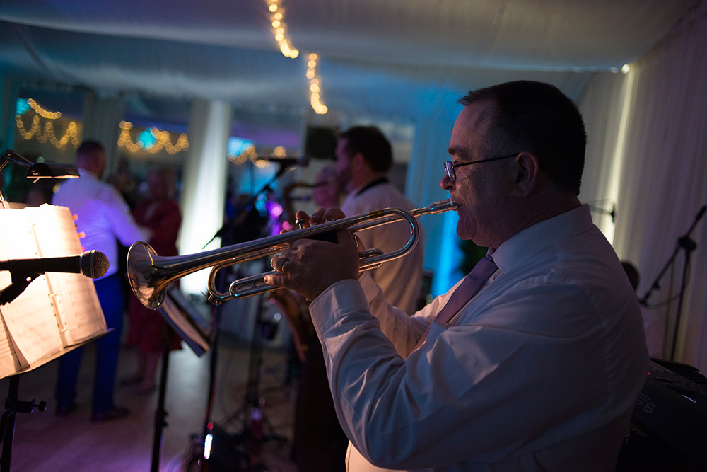 sax and the city wedding at rathsallagh hosue hotel