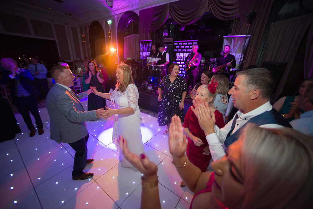 first dance bride and groom at langtons hotel kilkenny
