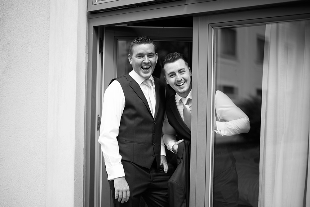 documentary wedding photographer druids glen hotel