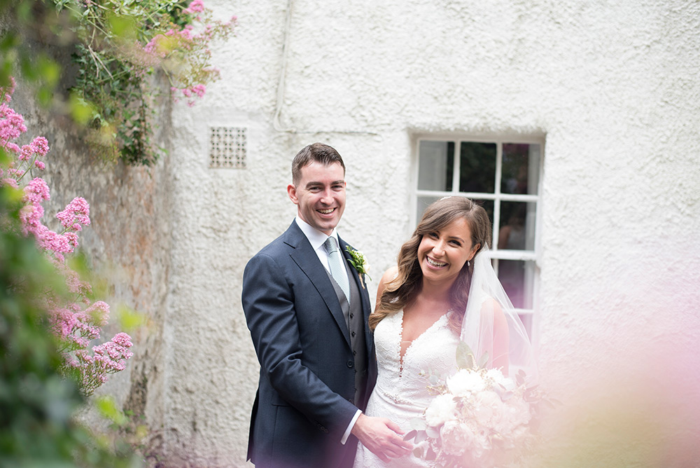 wedding photos at st patricks church kilquade wicklow