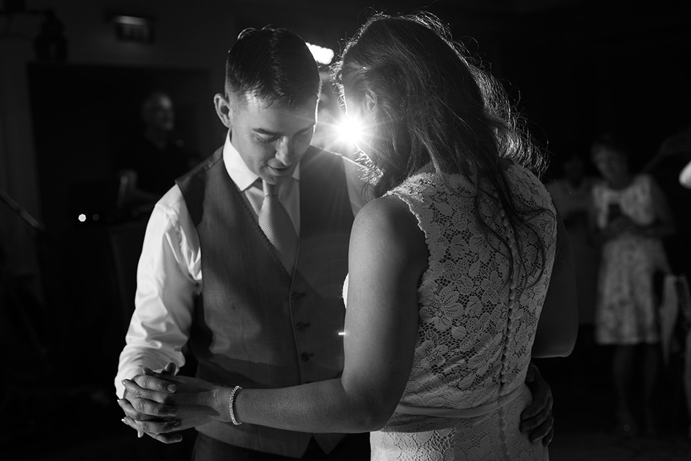 first dance at summer wedding at druids glen hotel