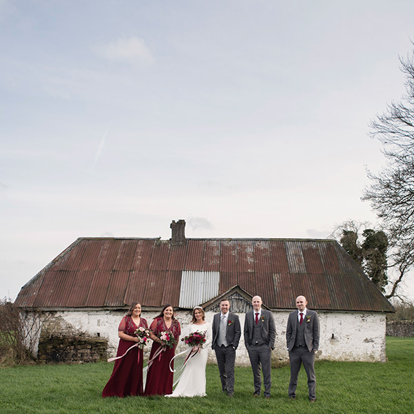 wedding photos at bective abbey kells co meath
