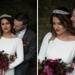 bride and groom wedding photos at bective abbey co.meath