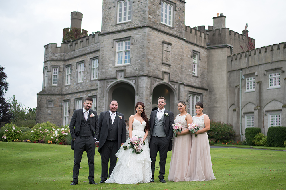covid wedding at luttrellstown castle