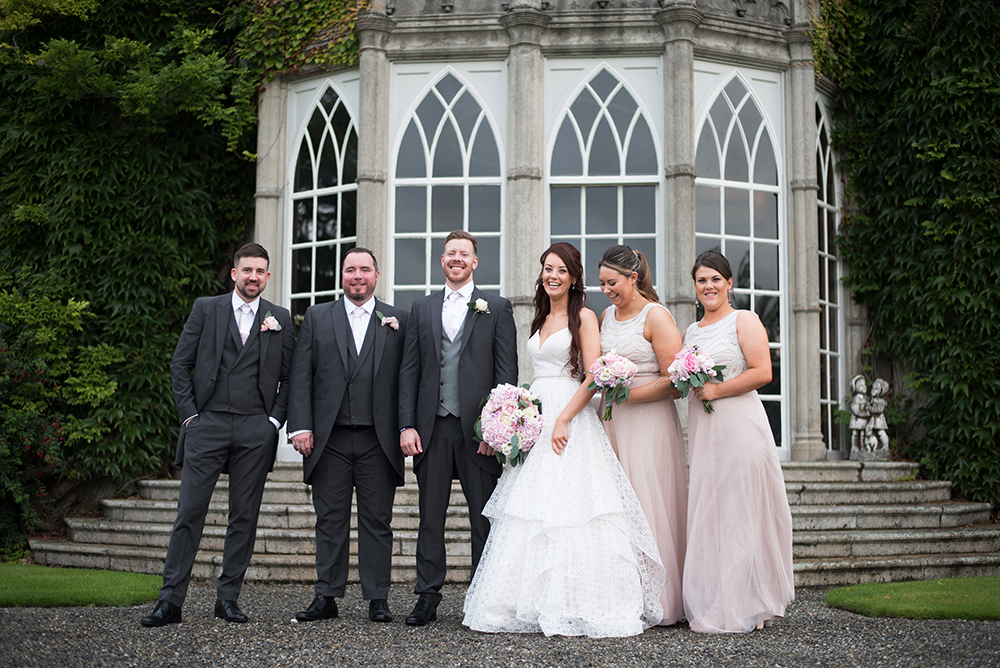 wedding photos at luttrellstown castle
