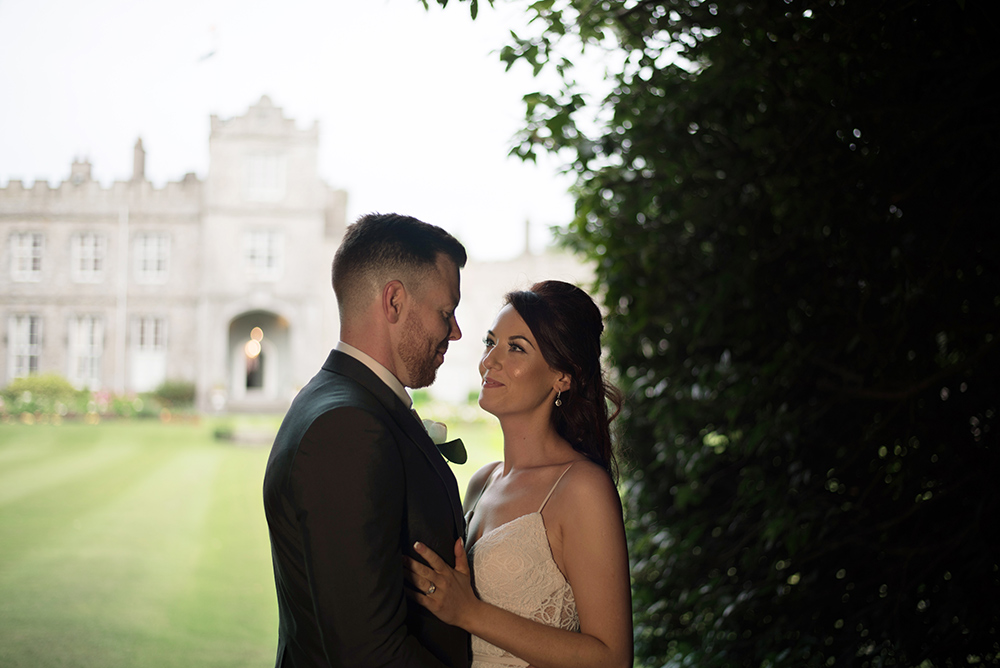 wedding during pandemic at luttrellstown castle