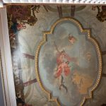 beautiful painted ceiling venue details at luttrellstown castle