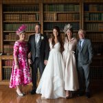 family photos at luttrellstown castle wedding