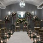 ceremony room Kilkea Castle Wedding
