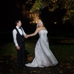 night time wedding photos Kilkea Castle Wedding