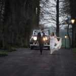 entrance to tankardstown house wedding