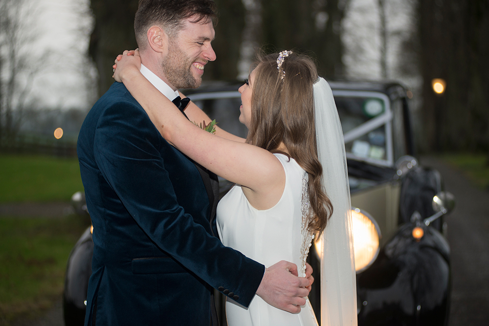 outdoor wedding at tankardstown house